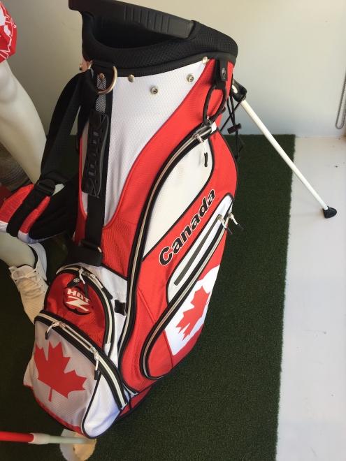 Hot Z Canadian Stand Golf Bag Canada Flag